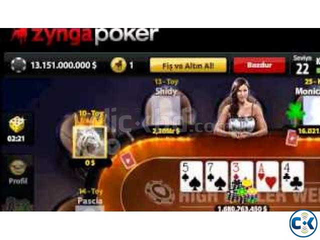 Zynga poker chips | ClickBD large image 0