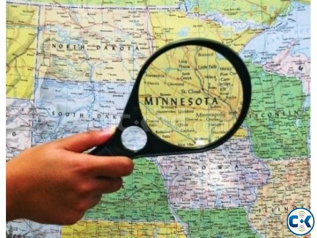 90MM MAGNIFYING GLASS 3X 6X | ClickBD large image 0