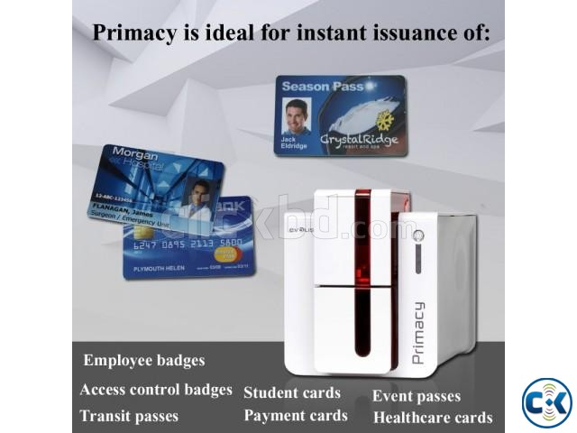 All accessories of Evolis Primacy Securion card printer | ClickBD large image 0