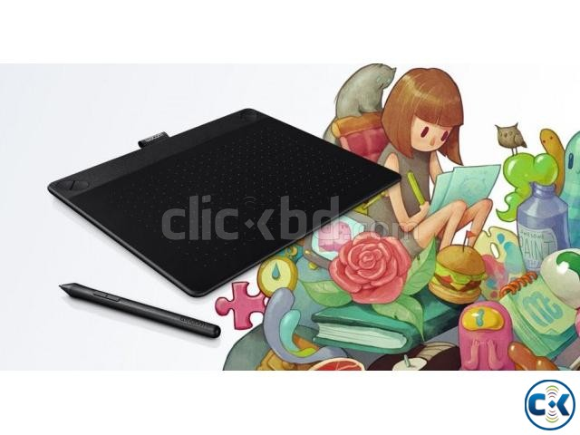 Wacom CTH-690 K0-CX Medium Art Pen and Touch Tablet Black | ClickBD large image 0