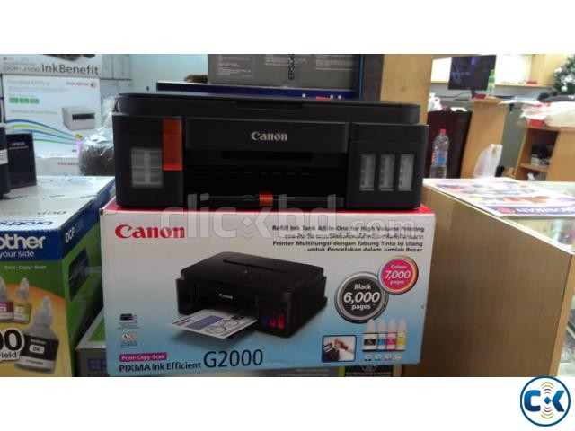 CANON PIXMA G2000 Refillable Ink Tank All-In-One | ClickBD large image 0