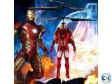 Iron Man IR RC Kids Sensor Helicopter