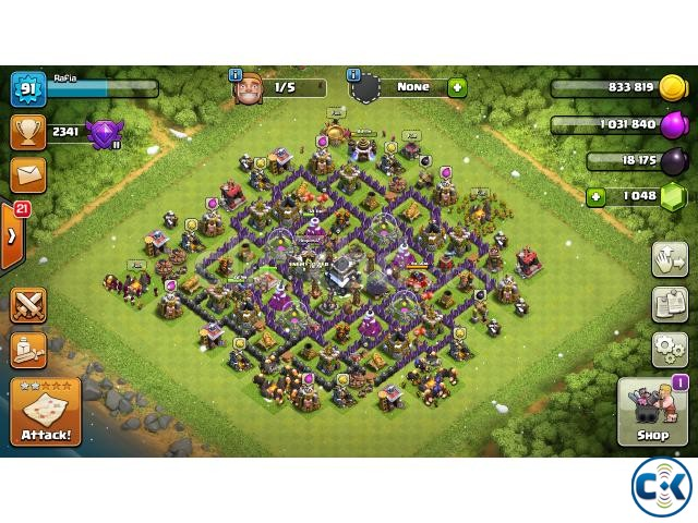 Clash of Clans COC New TownHall 9 | ClickBD large image 0