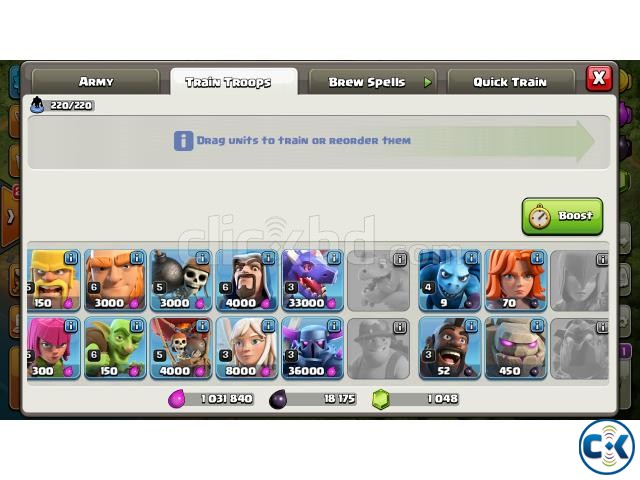 Clash of Clans COC New TownHall 9 | ClickBD large image 1