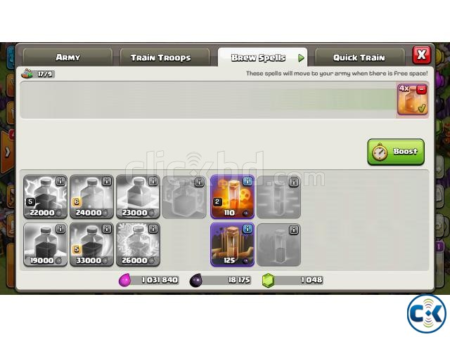 Clash of Clans COC New TownHall 9 | ClickBD large image 2