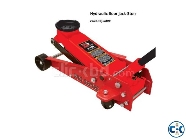 Hdraulic floor jack engine crane Air impact gun creeper