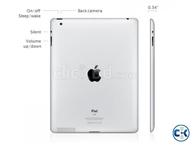 Apple I pad-2 -64 GB A-1396 | ClickBD large image 2