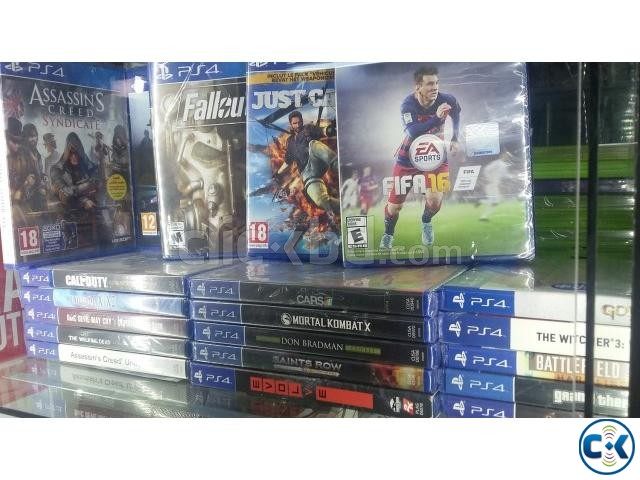 PS4 all brand new games best price in bd | ClickBD large image 1