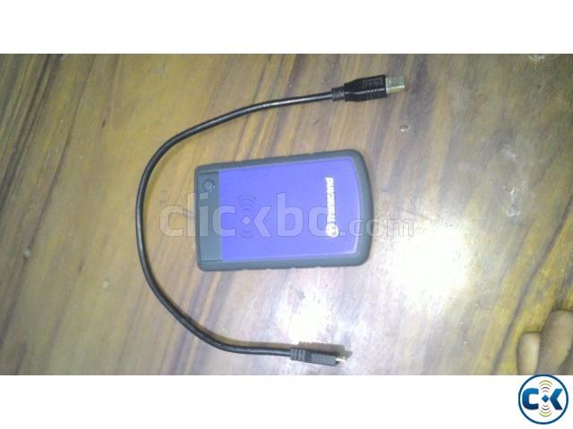 Transcend 1TB portable hard drive USB3 | ClickBD large image 0