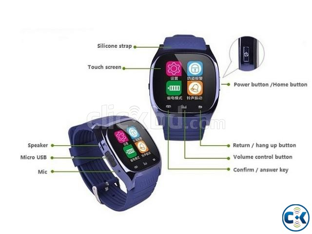 Smart watch M26 | ClickBD large image 2