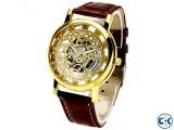 Rolex Roman Numeral Skeleton Watch