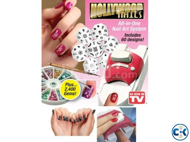Hollywood Nails All In One Naile Art System Clickbd