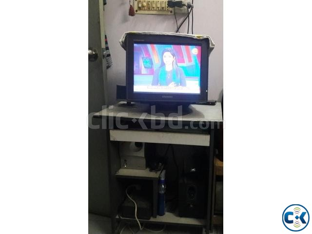 Samsung CRT Monitor with TV Card | ClickBD large image 0