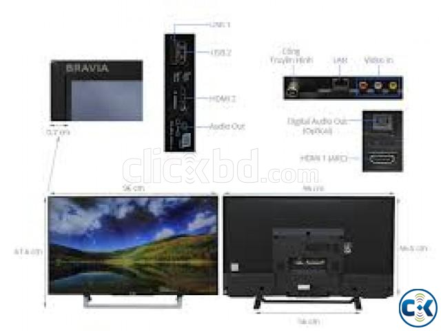 SONY BRAVIA KLV-43W752D FULL SMART TV | ClickBD large image 2