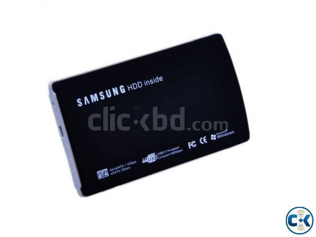 Samsung Slim SATA Laptop Hard Drive Disk Enclosure | ClickBD large image 0