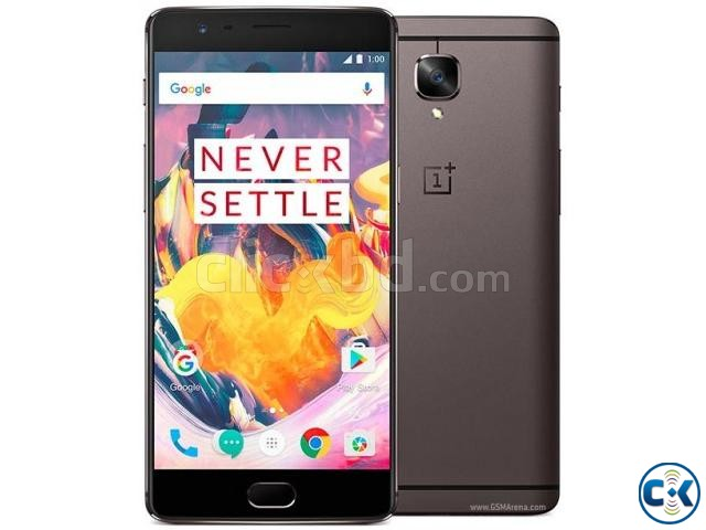 OnePlus 3T 64GB Brand New Intact See Inside  | ClickBD large image 0