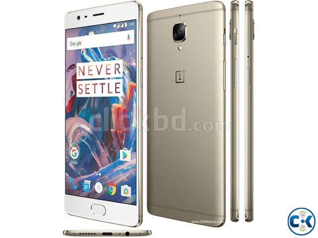 OnePlus 3T 64GB Brand New Intact See Inside  | ClickBD large image 1