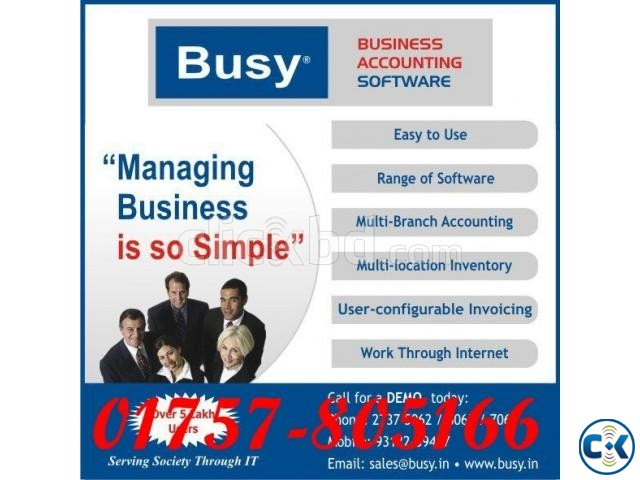 Busy Accounting Software | ClickBD large image 0