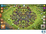 Clash of clan town hall 9 max for sale