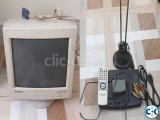 Samsung 14 CRT monitor with TV card