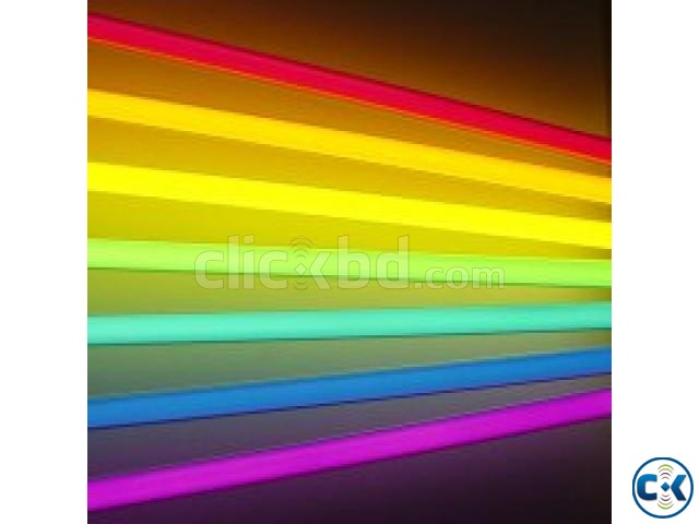 LED TUBE LIGHT COLOUR | ClickBD large image 0