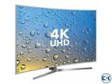 65 inch SAMSUNG CURVED 4K TV HU9000