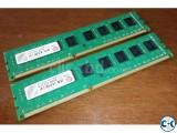 8GB RAM Transcend DDR3 1600MHz Buy 2 get Tk. 500 - less