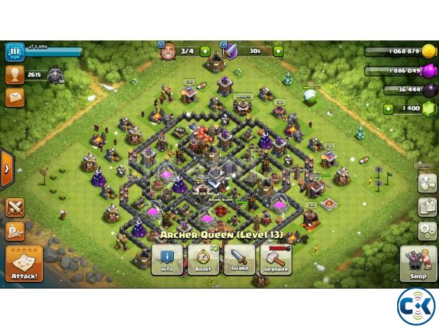 clash of clan id th9 max | ClickBD large image 1