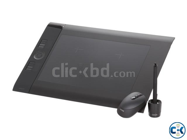 Wocom Board Medium Art Pen and Touch Tablet CTH-690 K0 | ClickBD large image 0