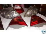 front and back light for x corolla