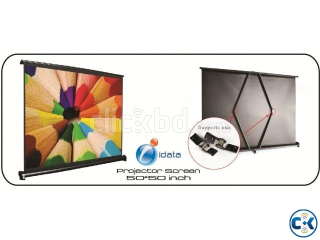 IDATA 50X50inch Projector Screen | ClickBD large image 0