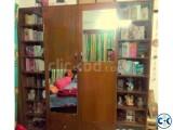 Shegun kather almari plus book self