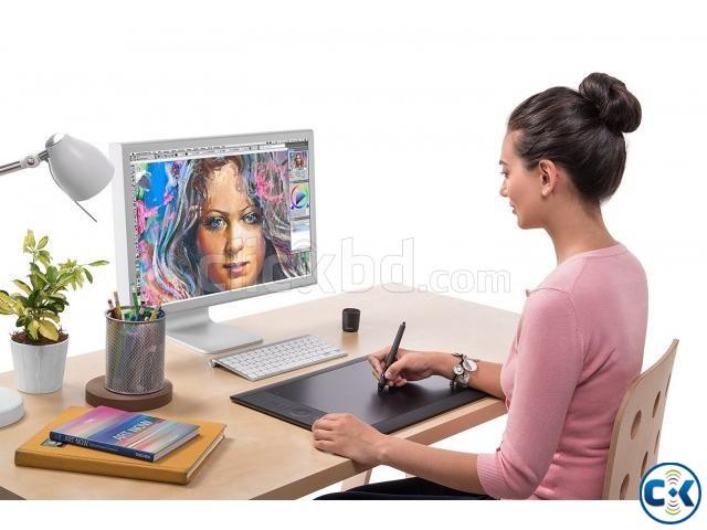 Wocom Board Intuos Pro Tablet Black PTH-851 K1-C | ClickBD large image 2
