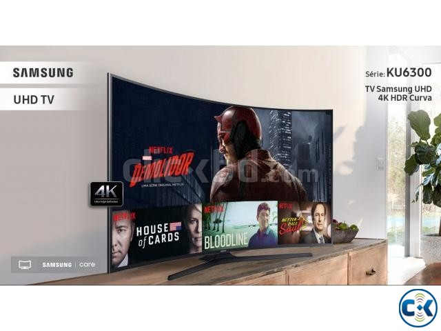 Samsung 40 KU6300 4k Curved LED Smart TV ORIGINAL NEW 2017 | ClickBD large image 2