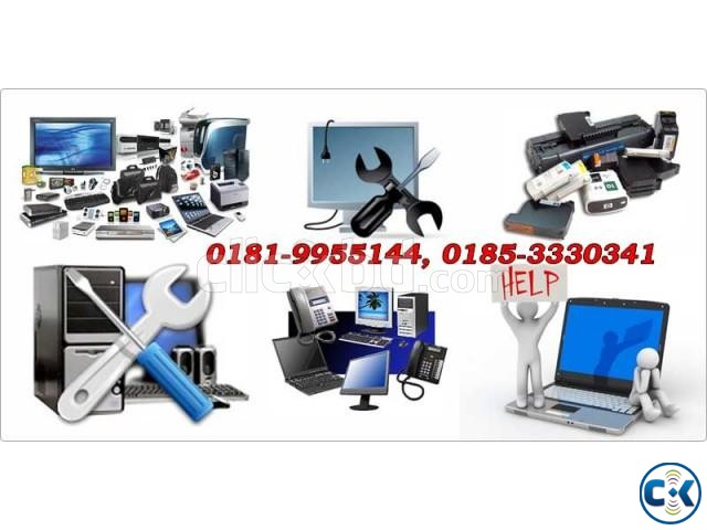 Computer And Laptop Repair Home Service Badda   ClickBD