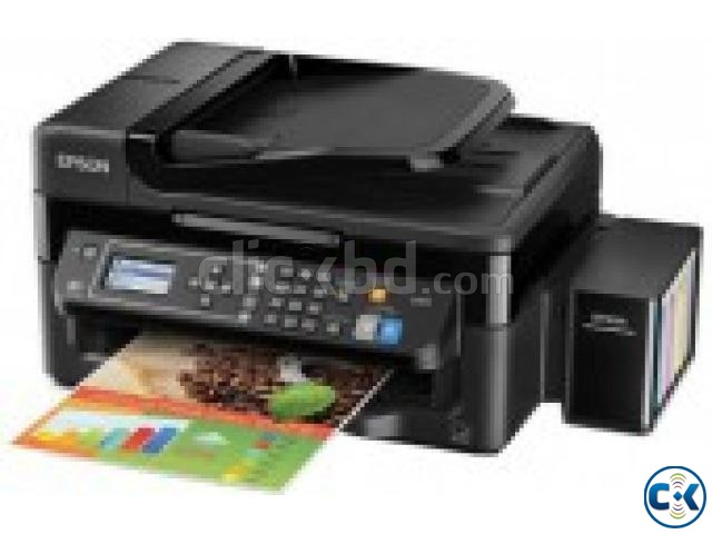 Epson L-565 All-In-One 33PPM Wi-Fi Color Inkjet Printer | ClickBD large image 0