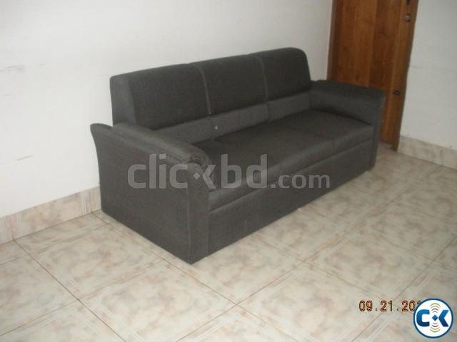 Triple Sitter Sofa BD-01 | ClickBD large image 0