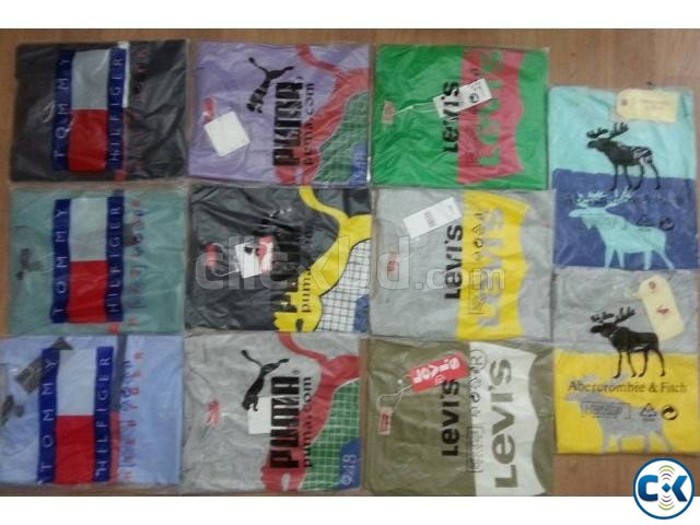 exported t shirt for men  | ClickBD large image 3