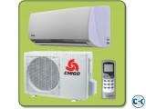 2 ton Chigo ac INTACT BOX @01733354847