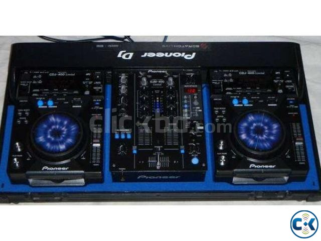Pioneer cdj 400 djm 400 package Limited Edition For Sale | ClickBD large image 1