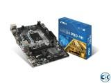 MSI H110M PRO-VH LGA 1151 6th Gen Intel H110 Motherboard
