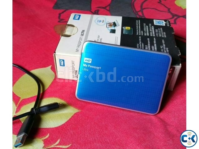 WD 1tb portable hard drive | ClickBD large image 0