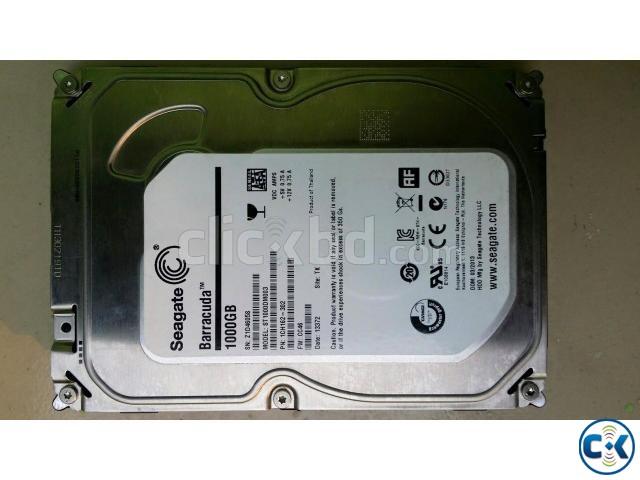 1 TB SATA Hard disk Seagate | ClickBD large image 0