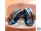Love Couple Ring Crystal Mount Lovers Ring