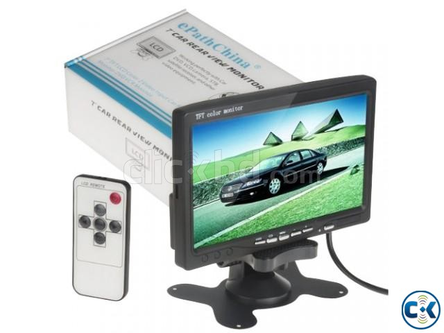 7 TFT LCD Car Rear View Backup Monitor price in uttora | ClickBD large image 0