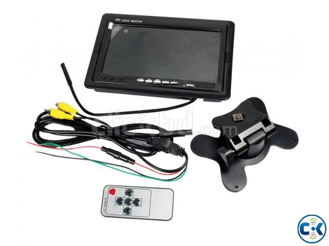7 TFT LCD Car Rear View Backup Monitor | ClickBD large image 0