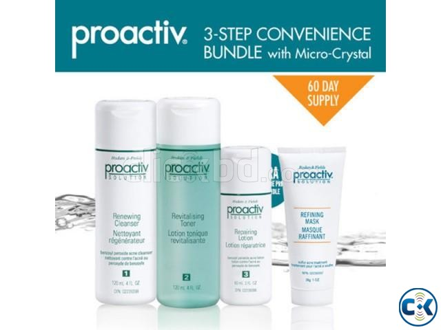 Proactiv Solution with Refining Mask 3-Step acne clear kit | ClickBD large image 0