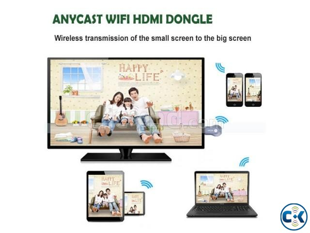 AnyCast TV Stick Miracast DLNA Tv Dongle | ClickBD large image 1