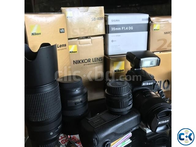 Nikon 810 with 24 35 85 70-300 pro lenses | ClickBD large image 0