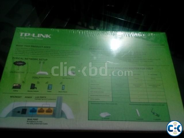 TP-Link TL-WR720N Wireless Router | ClickBD large image 0